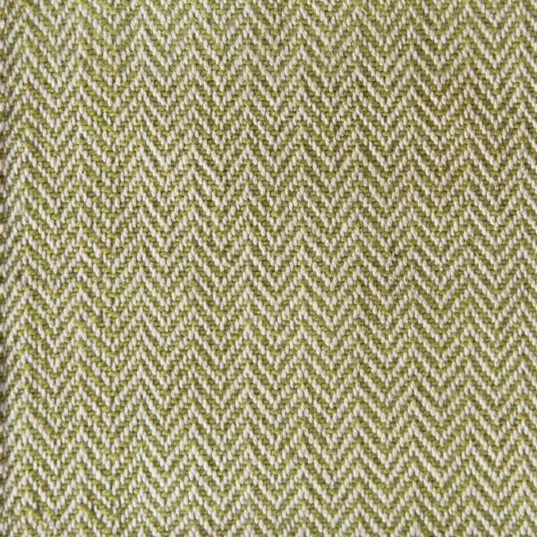 100% Cotton Large Herringbone Sea Grass