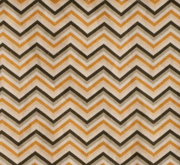 "100% Linen Suave Chevrons Fabric Swatch 6"" x 6"""