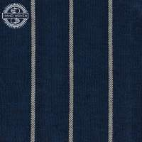 100% COTTON INDIGO & WHITE STRIPE (HANDOWOVEN)