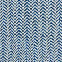 Linen Cotton Large Herringbone Indigo