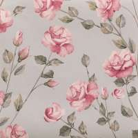"Mint Rose Gardens - Wallpaper Swatch 7"" x 10"""