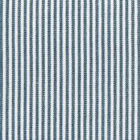 100% COTTON NAVY & WHITE STRIPE