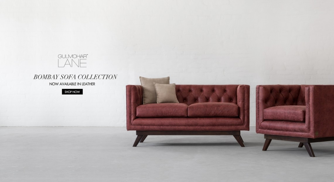 Modern Leather Sofa | Buy Leather Sofas Online in India