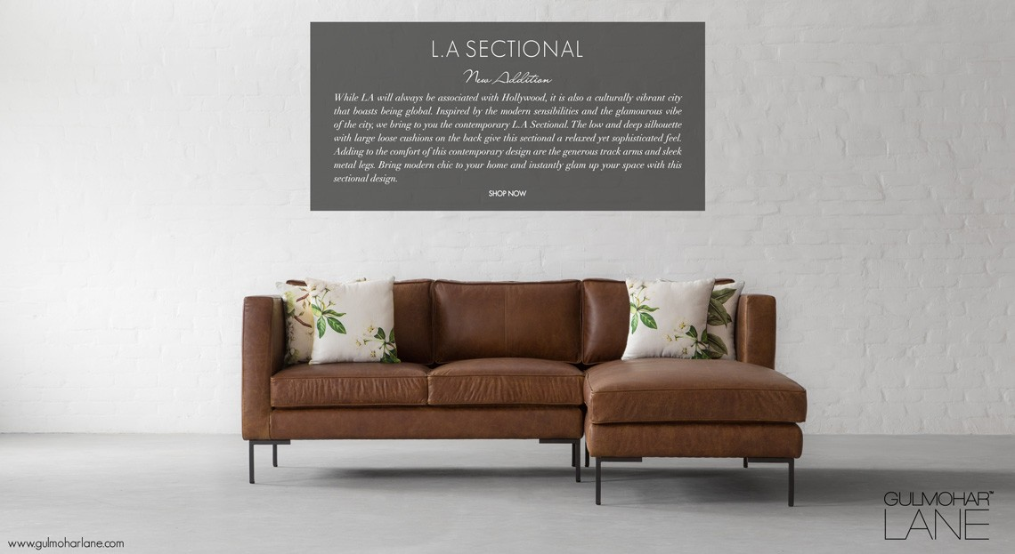 L.A Sectional Sofa