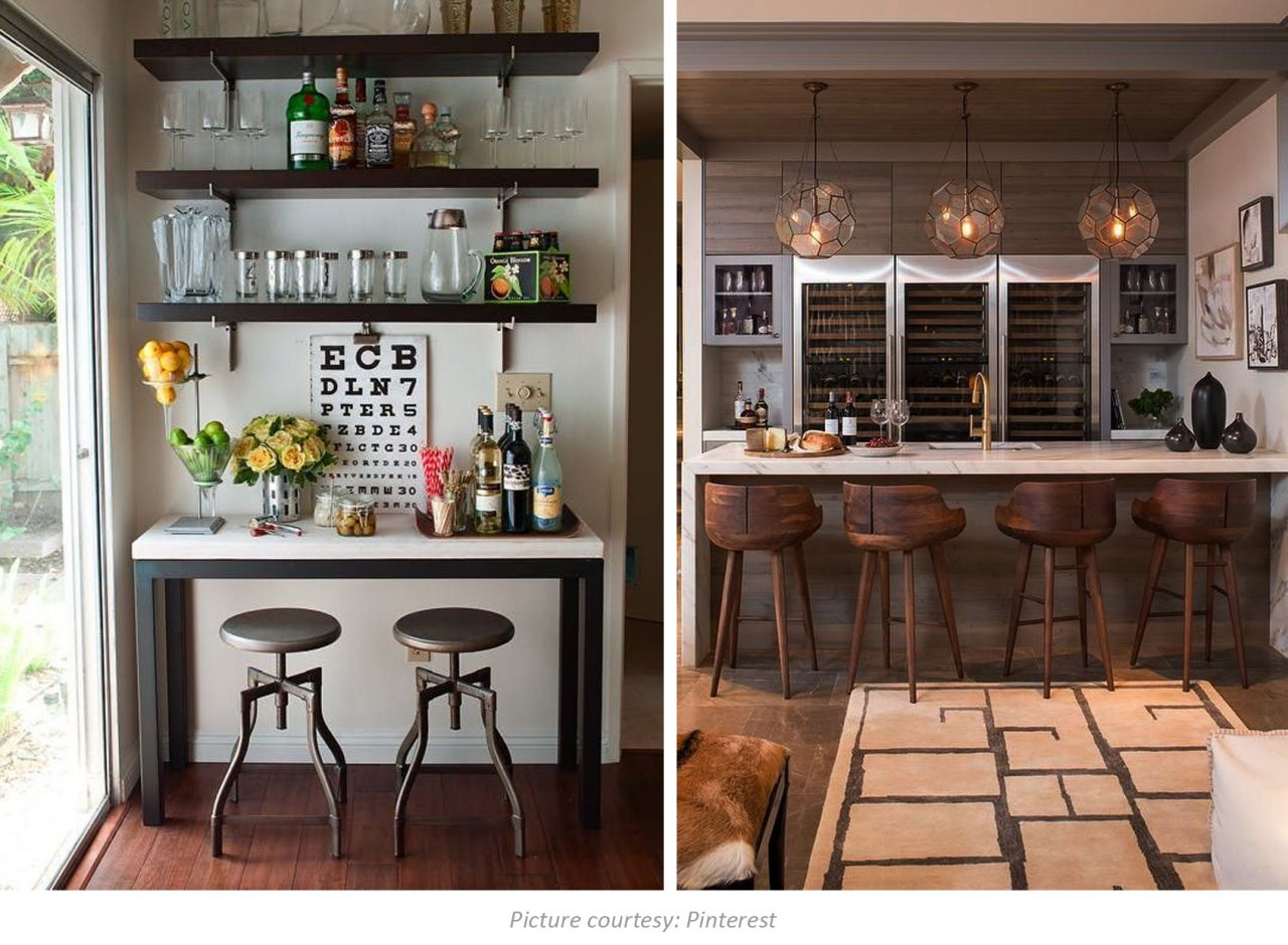 Start Decorating Your Home Bar With Our Leather Stool Collection