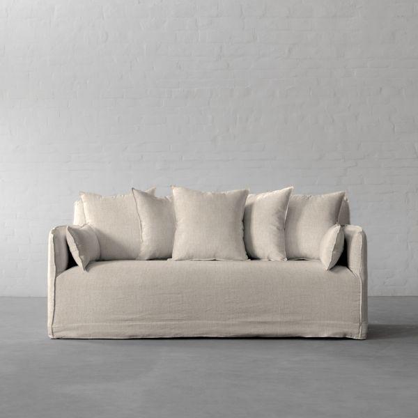 Gir Ivory Cotton Linen Blend