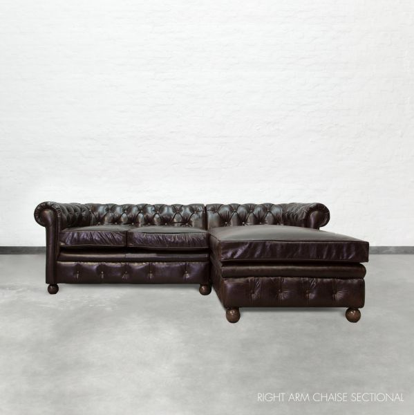 Chaise sectional chesterfield - Chaise chesterfield cuir ...