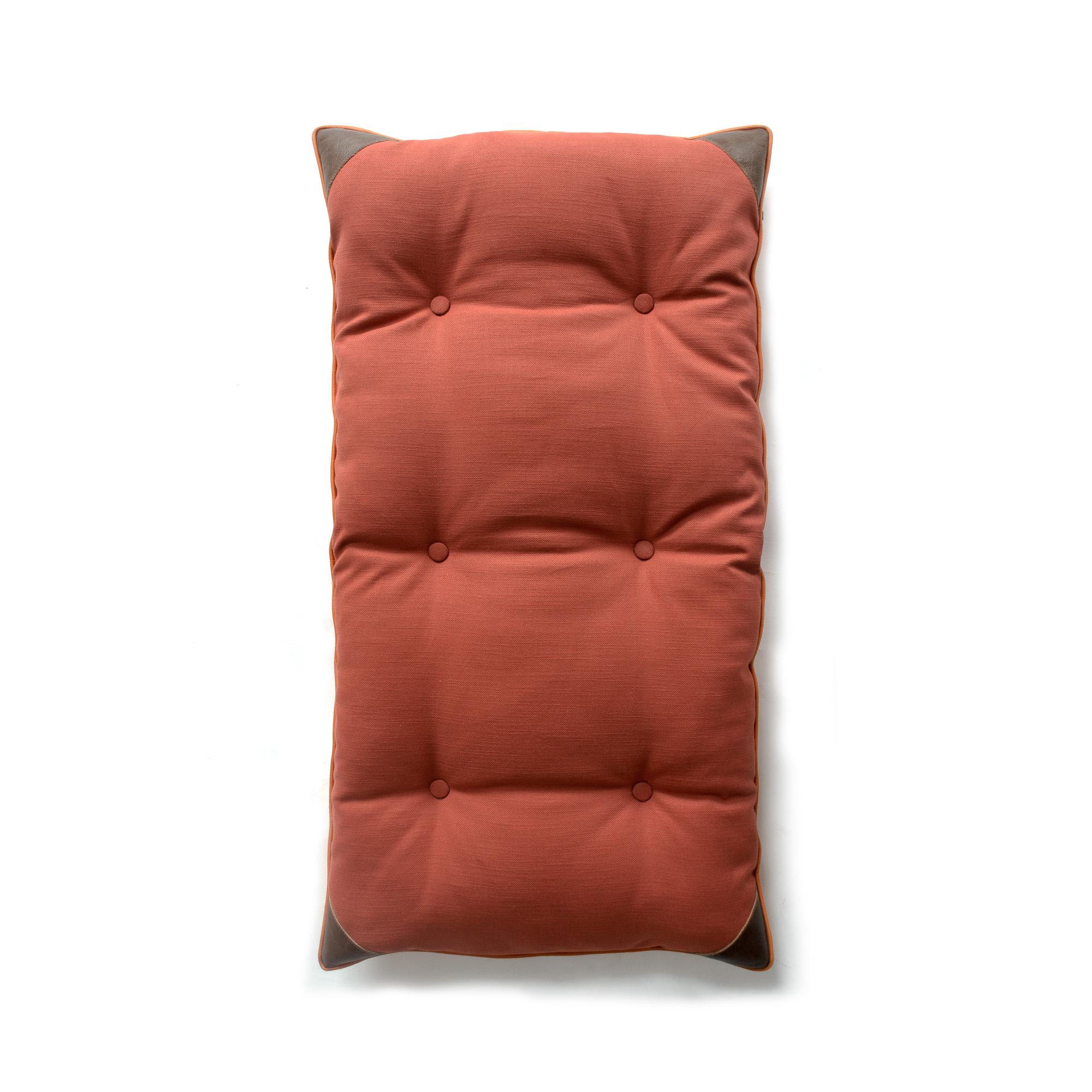 CHAIR TIE-UP CUSHION TANGERINE