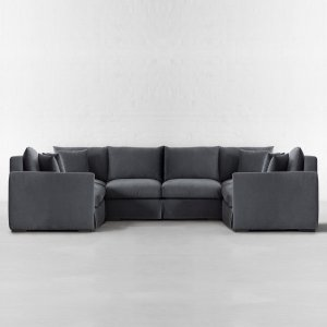 Xtra Large U Shape Sectional-California