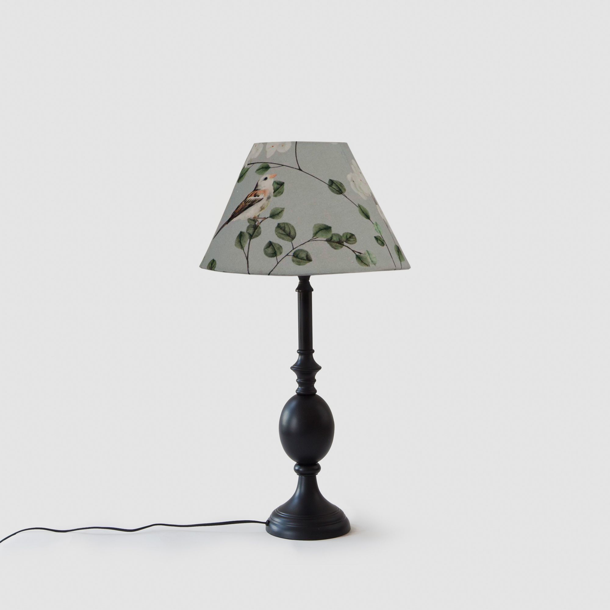 Cottage Bell Lampshade – Small - Chrysanthemums & Sparrows Breeze