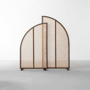 Auroville Rattan Room-Dividers