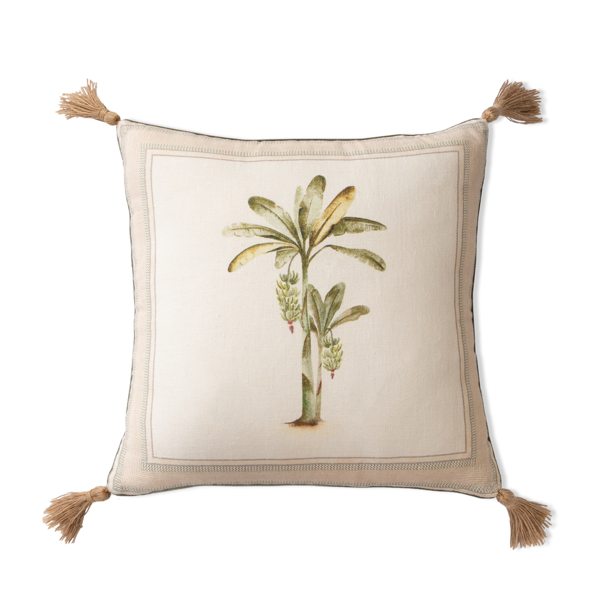Banana Tree Cushion Cover