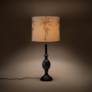 Chalet Cylindrical Table Lampshade - Banana Tree
