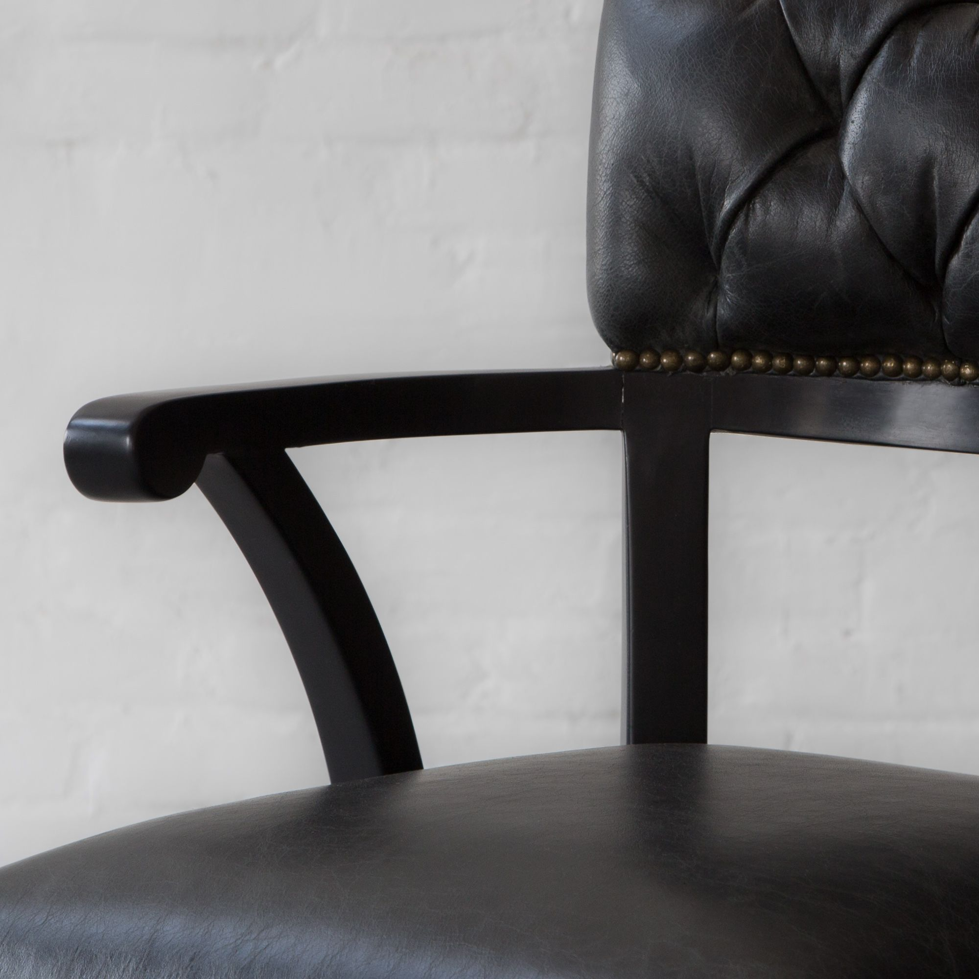 Islington Leather Bar Stool