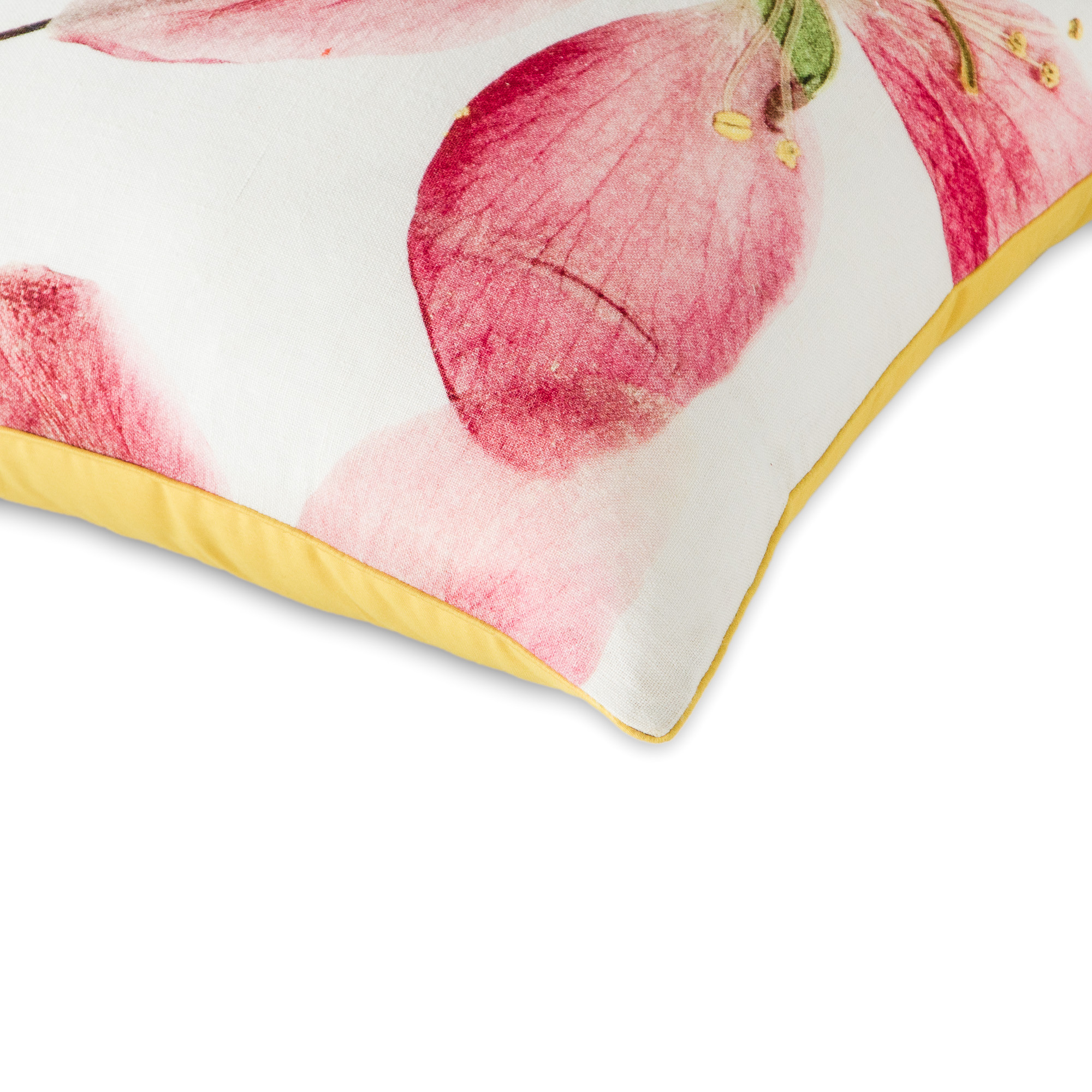 Blooming Petals Cushion Cover