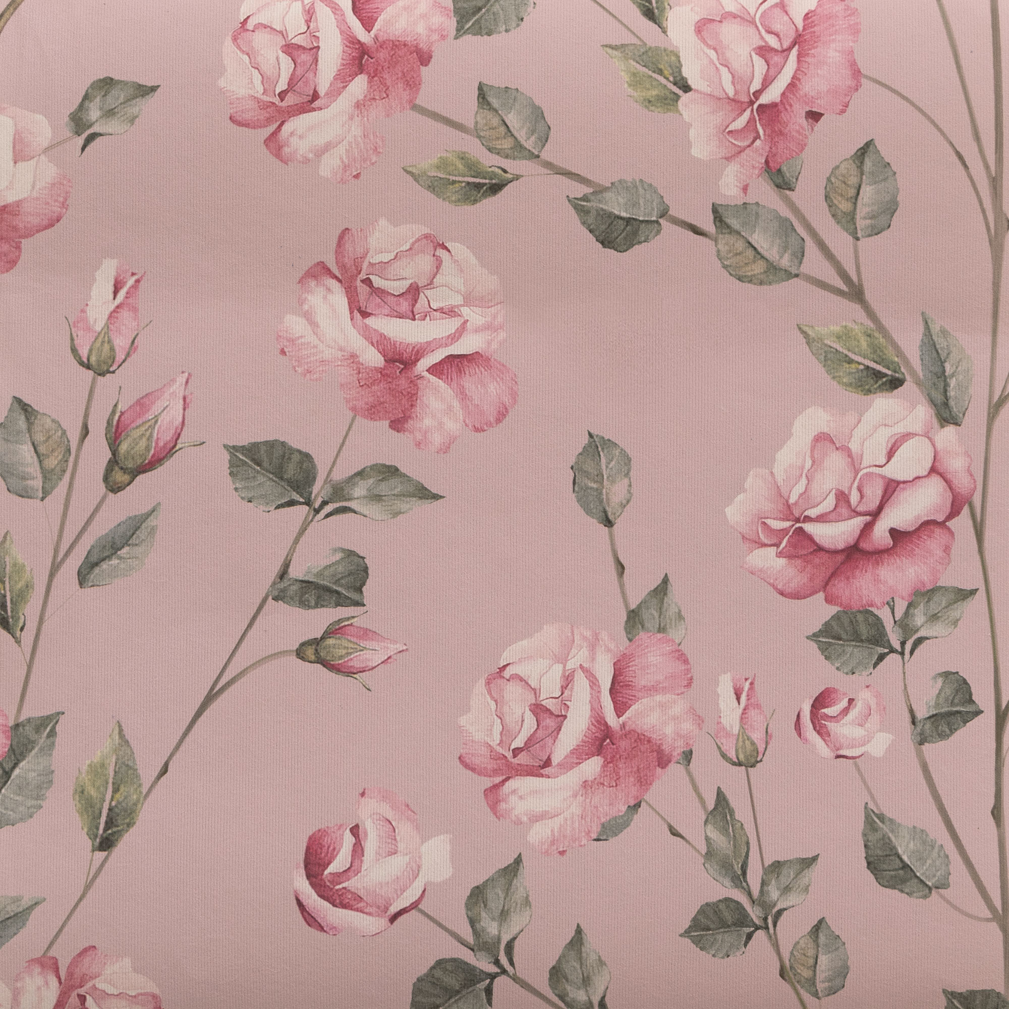 "Blush Rose Gardens - Wallpaper Swatch 7"" x 10"""