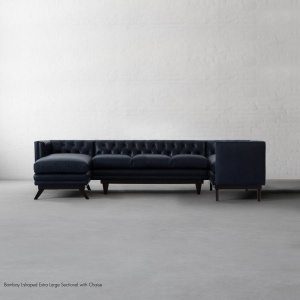 Bombay L-shaped Extra Large Sectional with Chaise