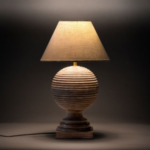 Cairo Wooden Table Lamp