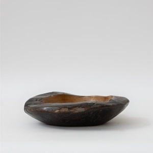 Cairo Ebony Wooden Bowl – Large