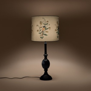 Chalet Cylindrical Table Lampshade - A Persian Corridor Spring