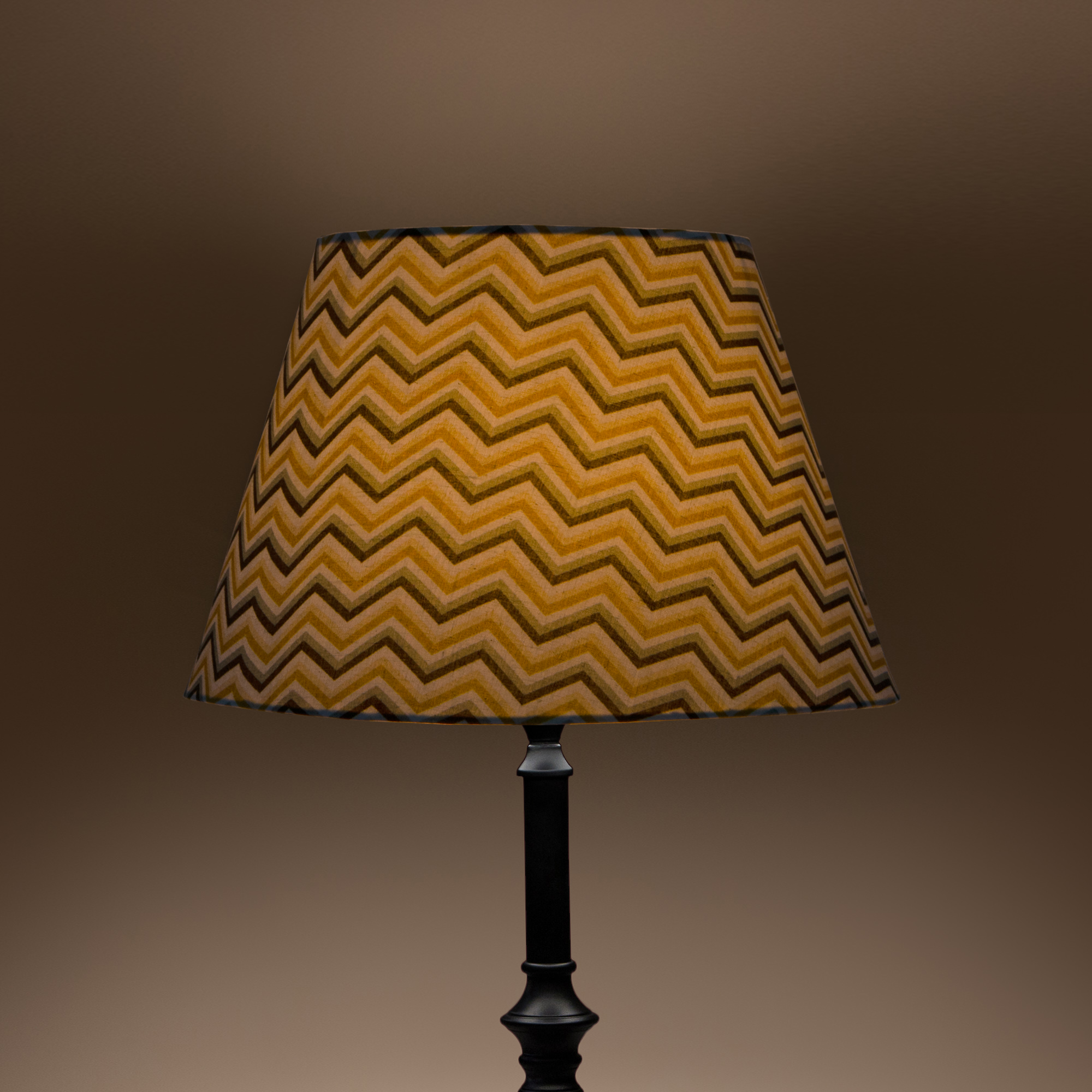 Cottage Bell Lampshade - Large - Chevrons