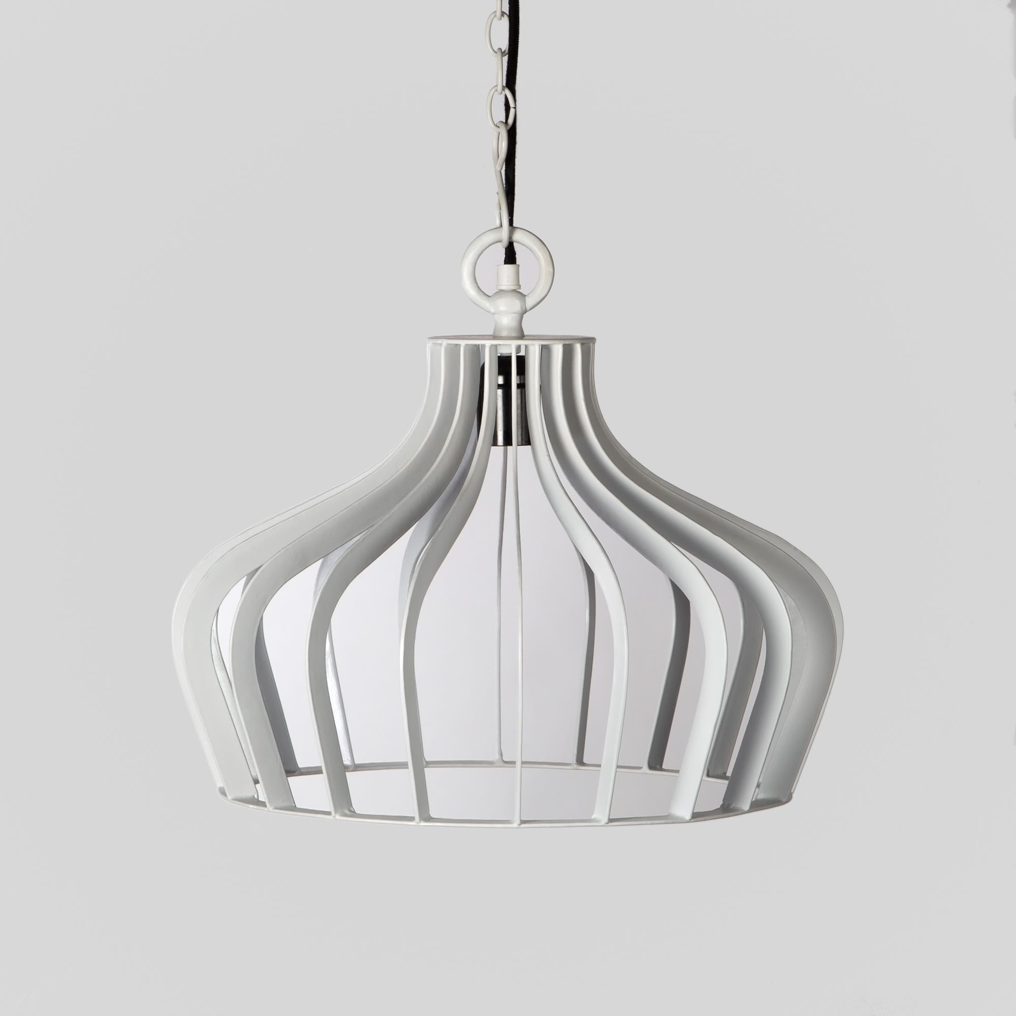 Compound Pendant Lamp- Ivory