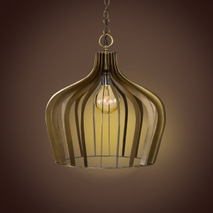 Compound Pendant Lamp- Antique Brass