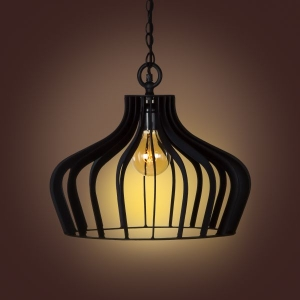 Compound Pendant Lamp- Coal