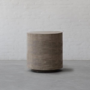 Concrete Island: Moon Side Table