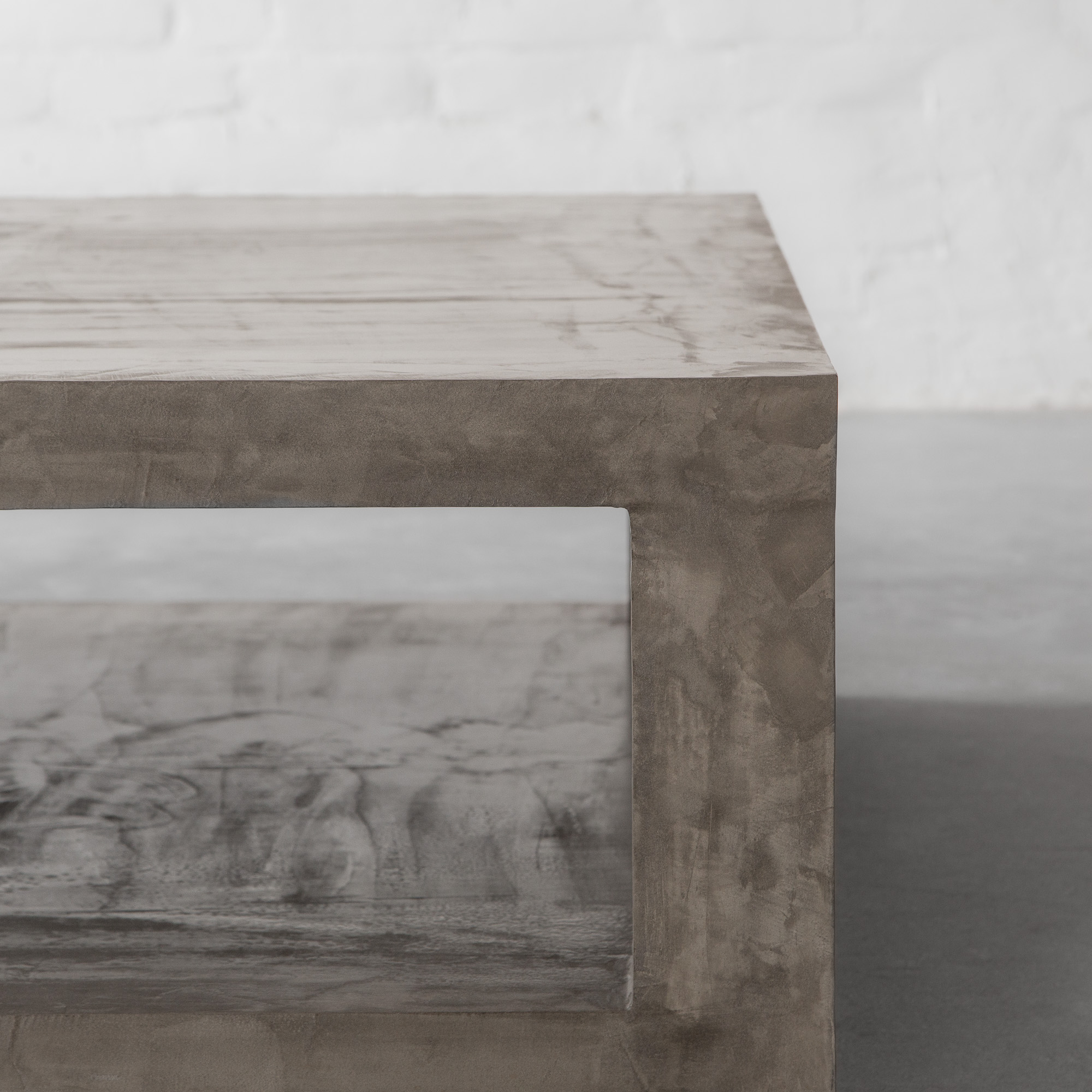 Concrete Island: Tunnel Square Coffee Table