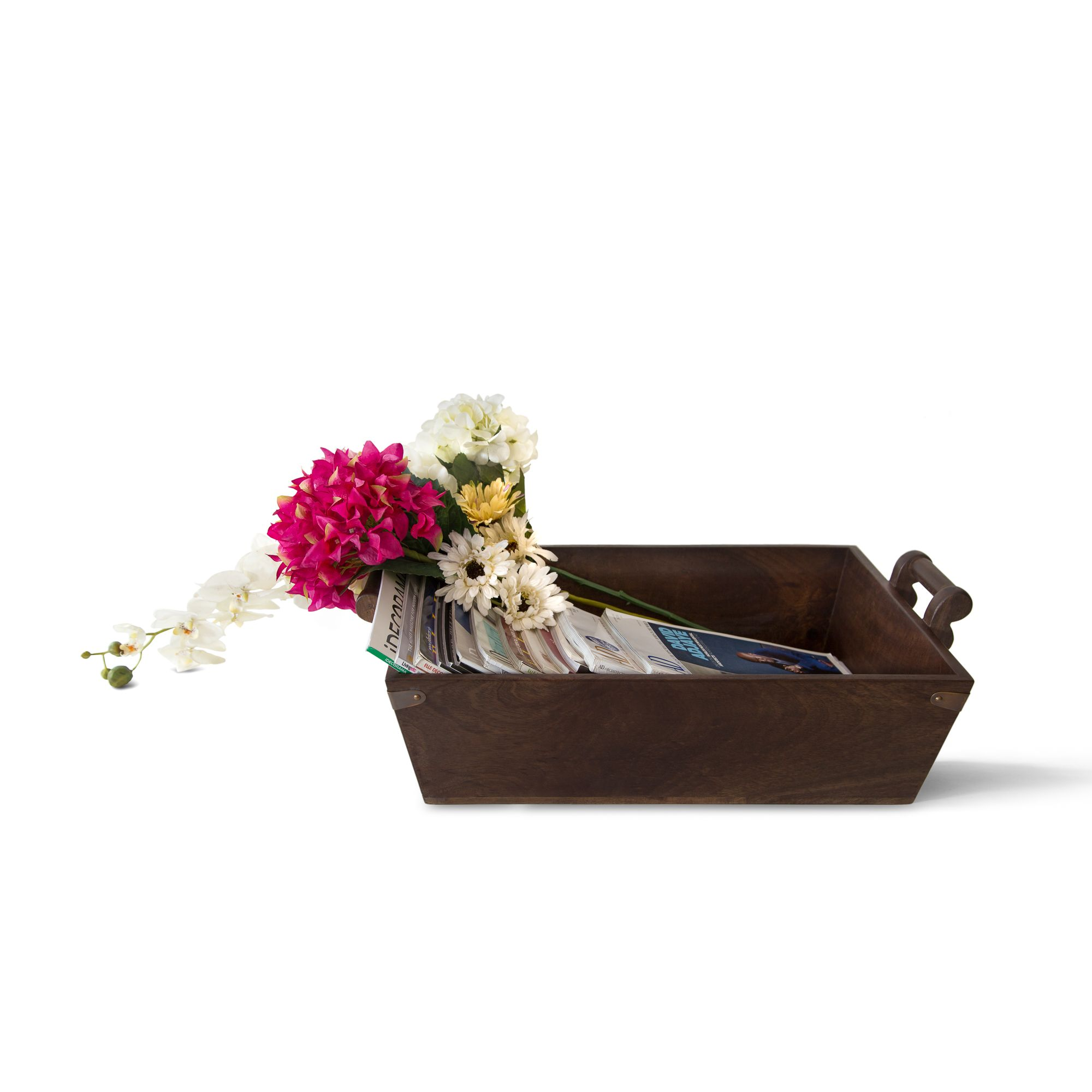 Wooden Country Basket
