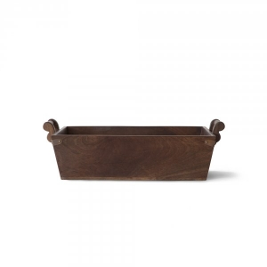 Perry Wooden Country Basket