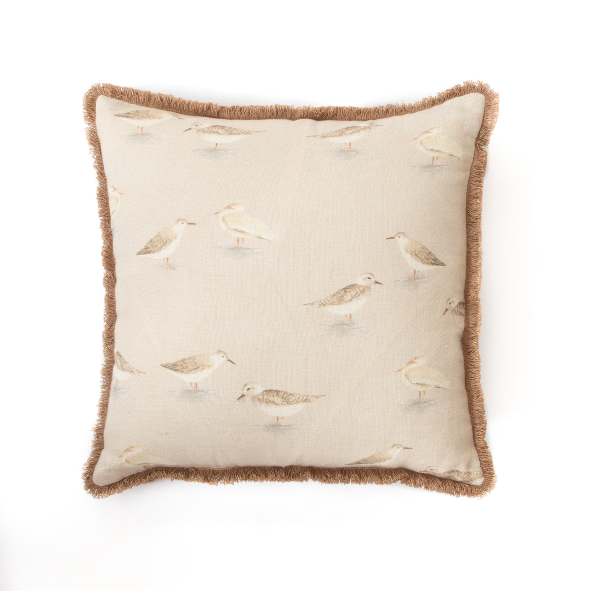 Curious Seagulls Cushion Cover