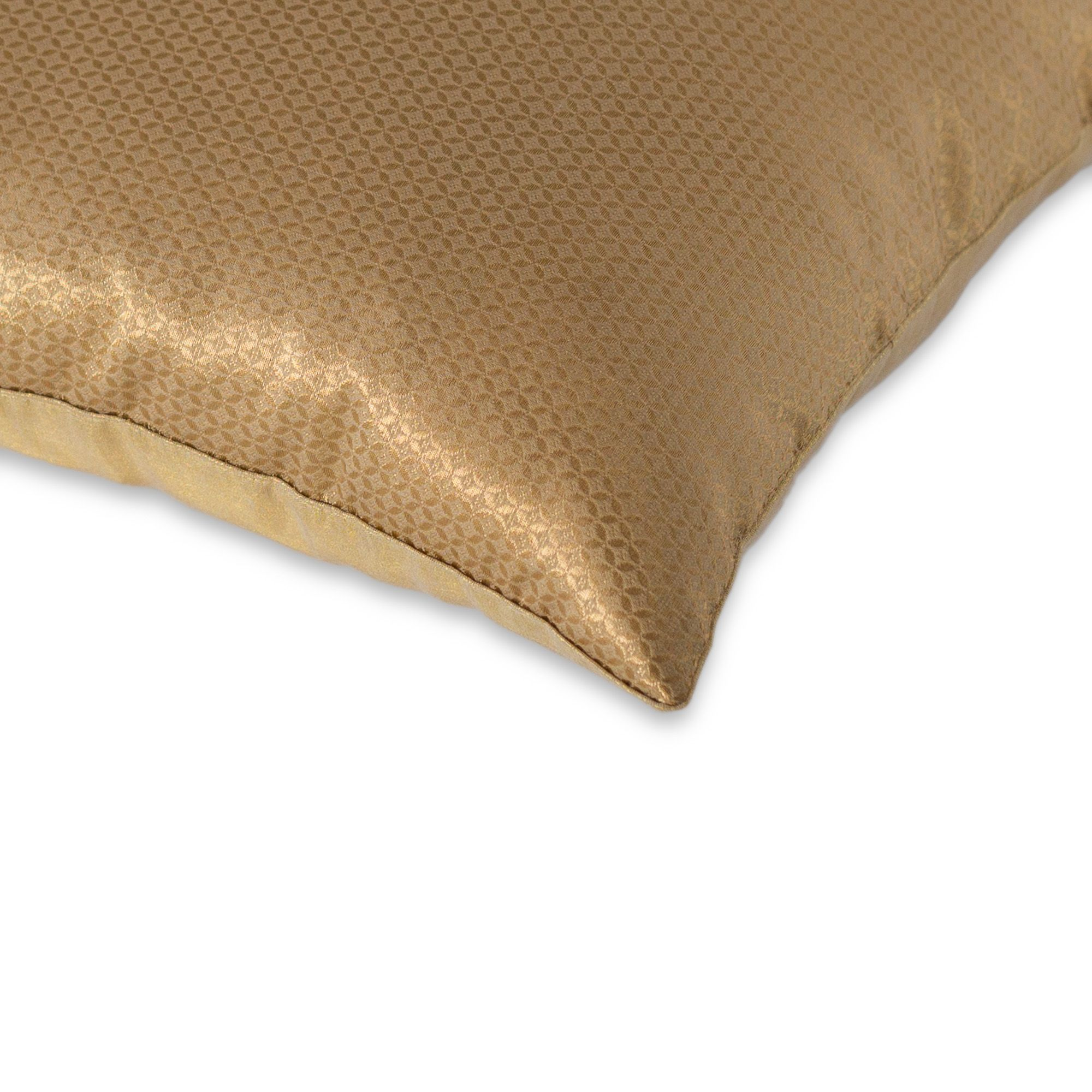 Kashmir Gate Cushion Cover Collection Gold Jaali