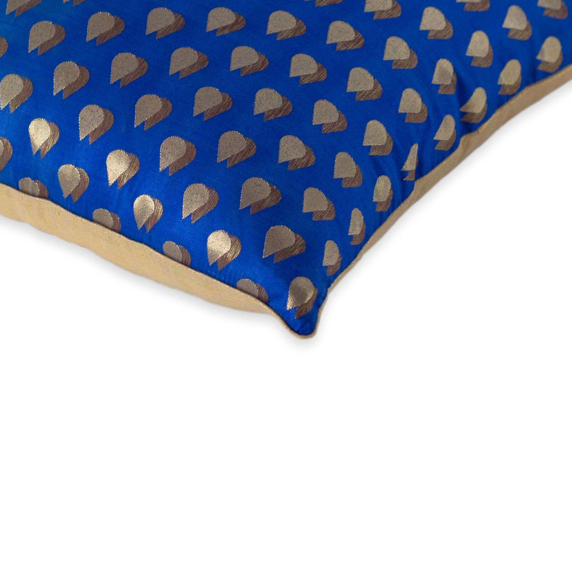 Nishat Bagh Cushion Cover Collection Sapphire Blue