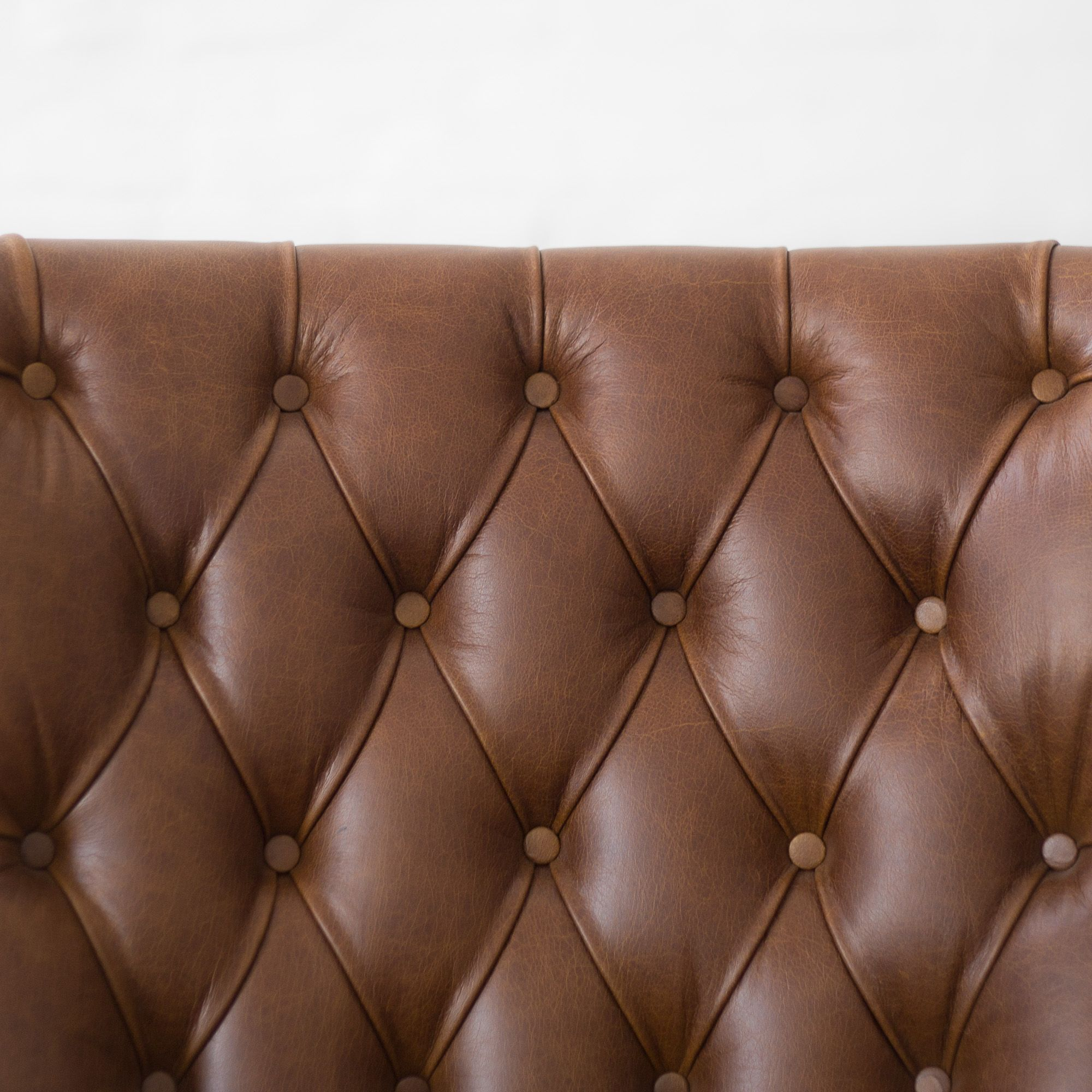 Dalhousie Tufted Leather Armchair