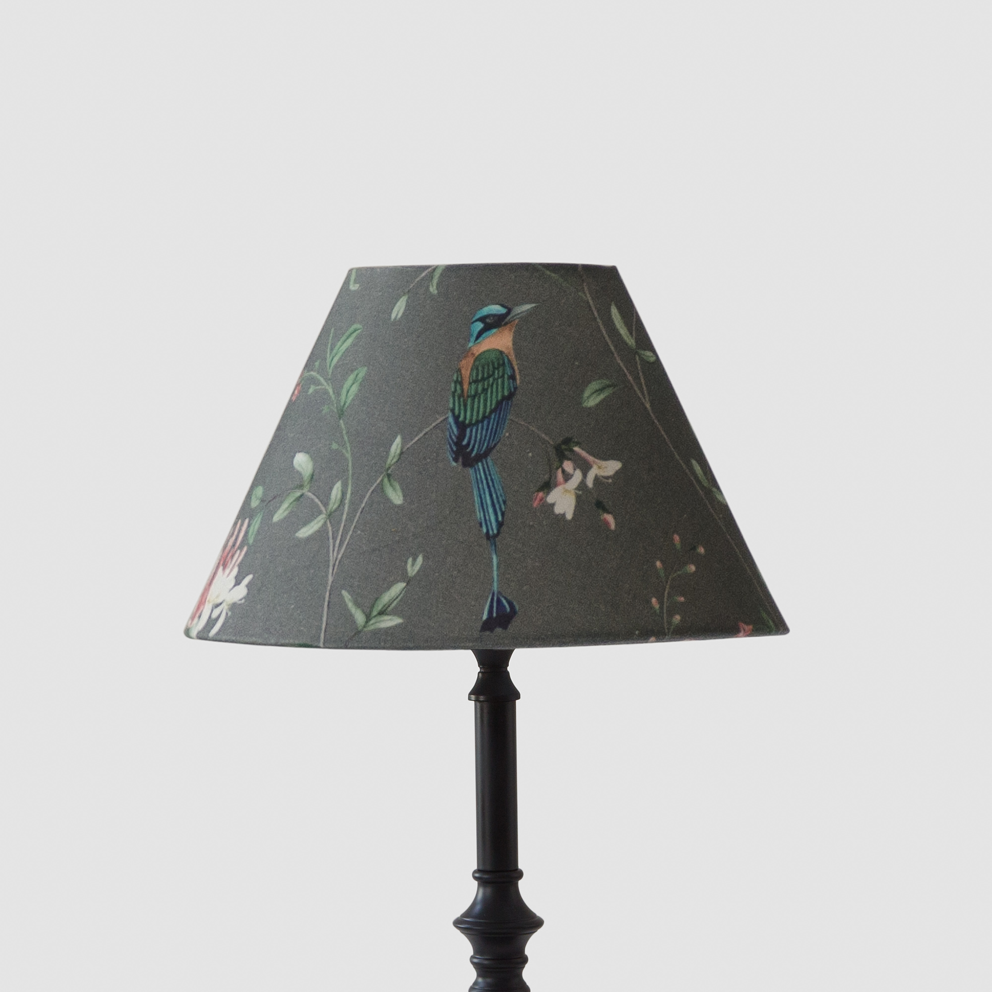 Cottage Bell Lampshade – Small – A Persian Garden Dusk