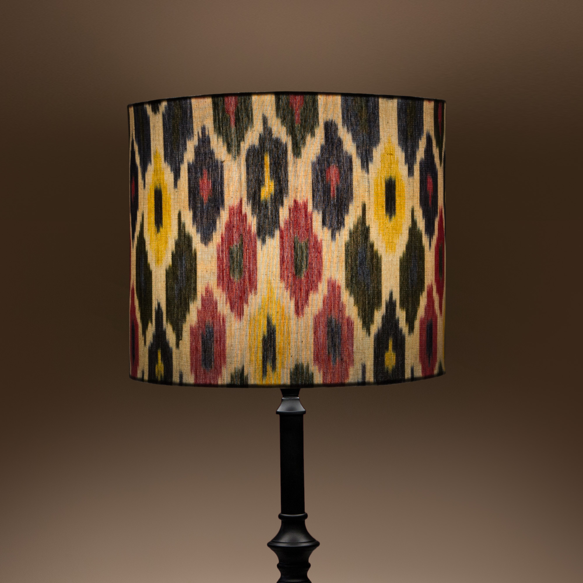 Chalet Cylindrical Table Lampshade - Ikat Spring