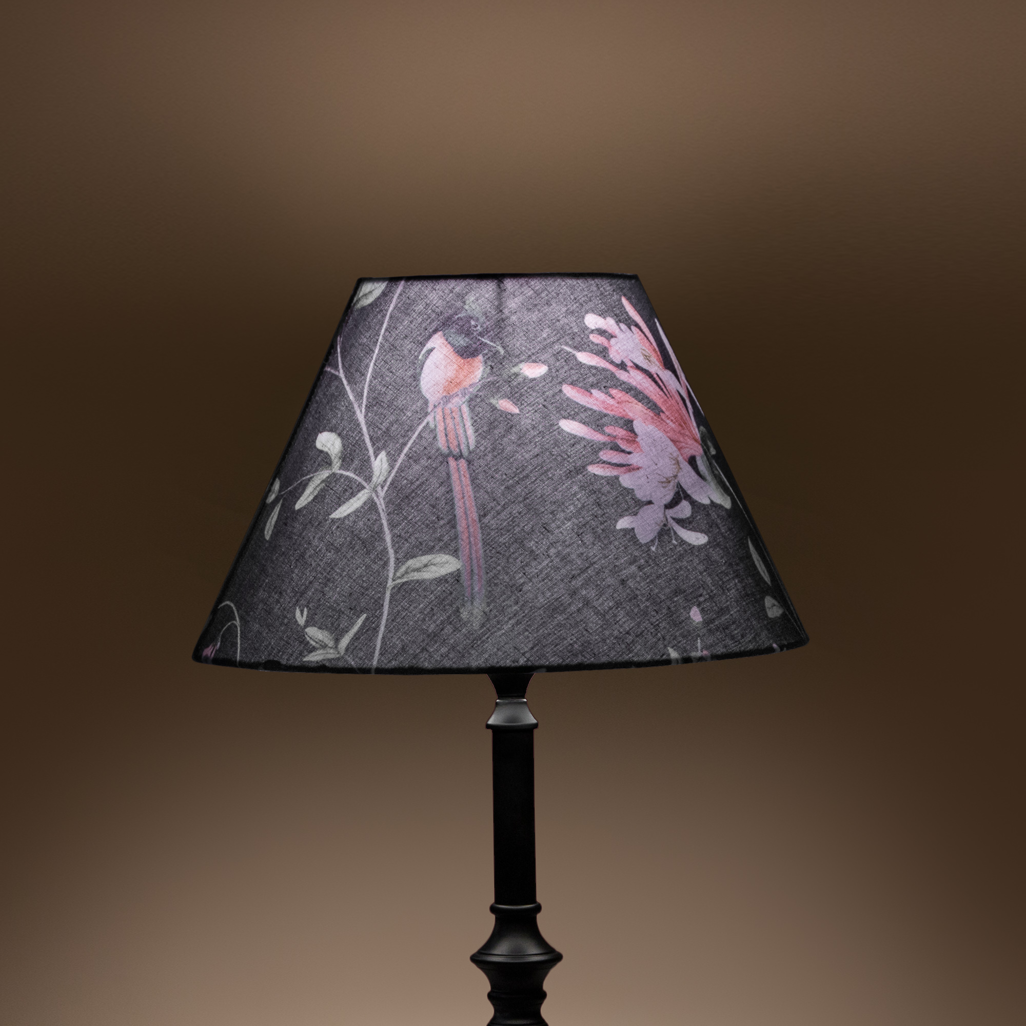 Cottage Bell Lampshade – Small - A Persian Garden Moonlit