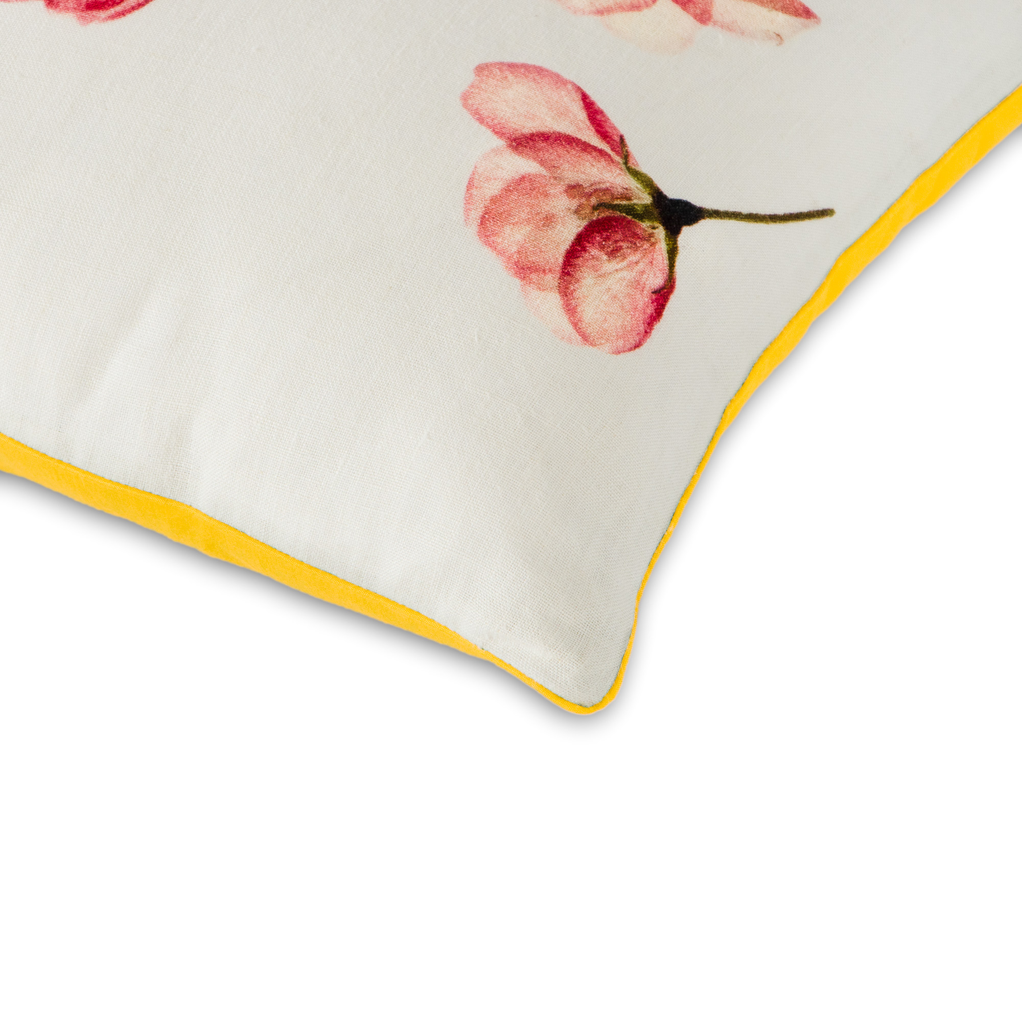 Drizzling Florals Cushion Cover