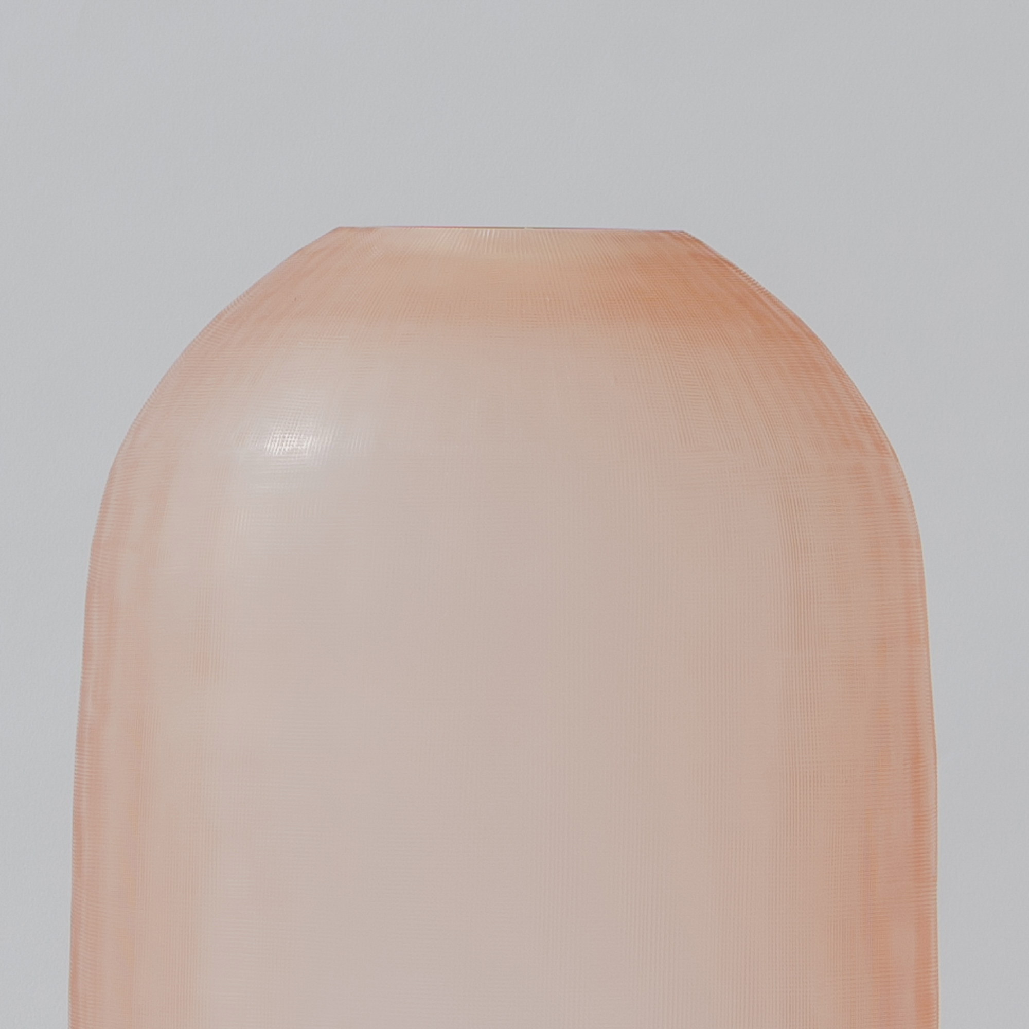 Dunes Glass Vase - Rose Gold