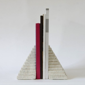 Pyramid Book Ends (Set of 2)