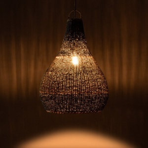 Lake Grass Pendant Lamp – Natural Gray