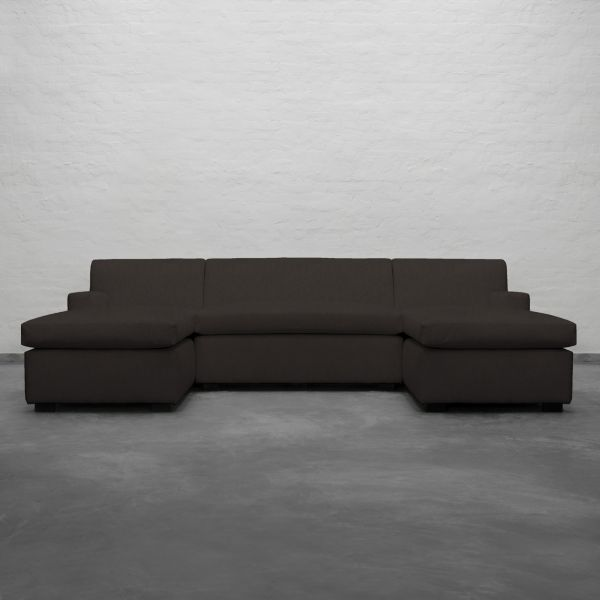 Large U Shape Sectional With Double Chaise Manor