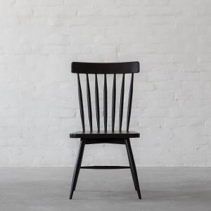 modern wooden chair front view. Fan-Back Windsor Wooden Chair Modern Front View