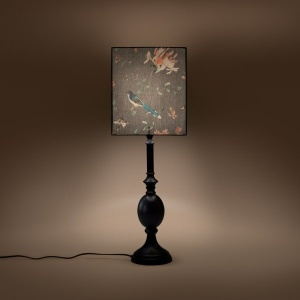 Farmhouse Column Lampshade - A Persian Garden Dusk