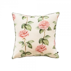 French Lace Vintage Rose Cushion Cover