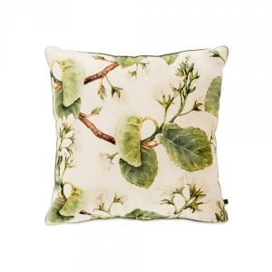 Green Foliage Cushion Cover