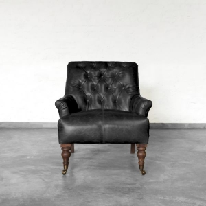 Gulmarg Leather Armchair