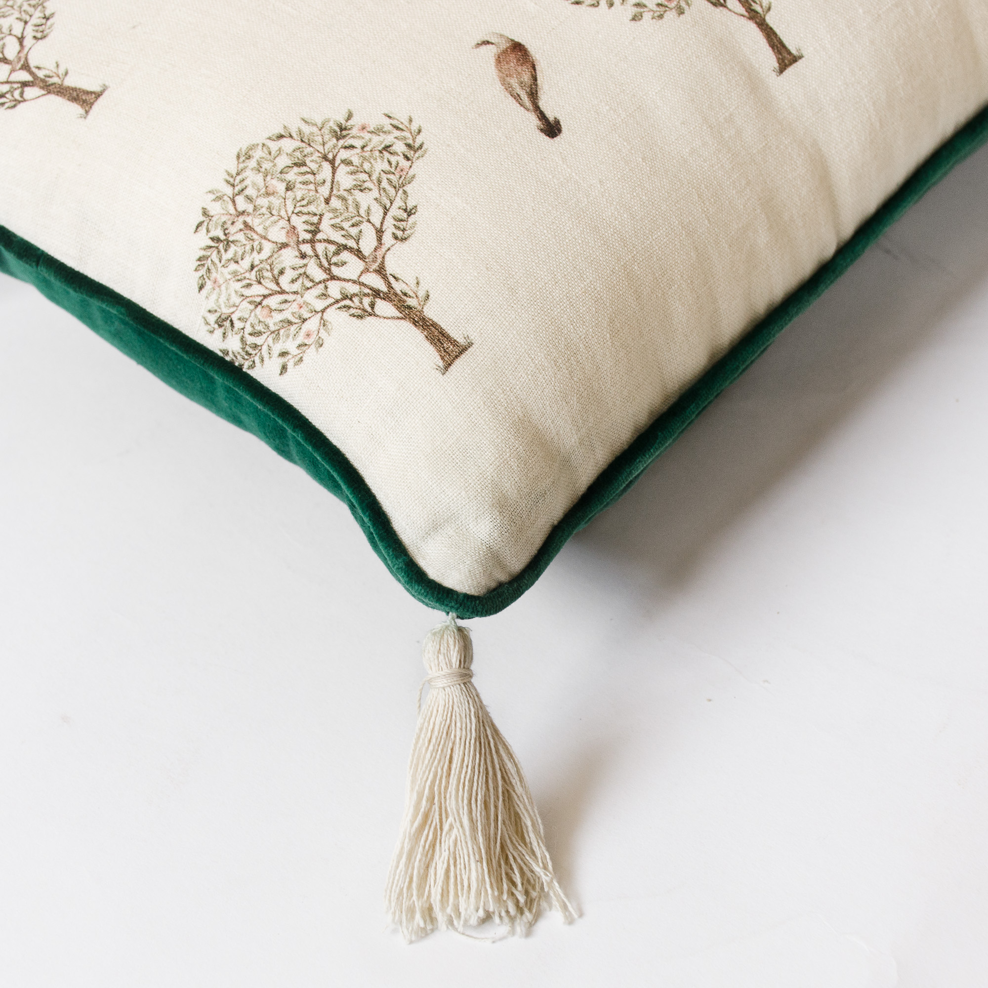 Birds and Trees Assembly Cushion Cover